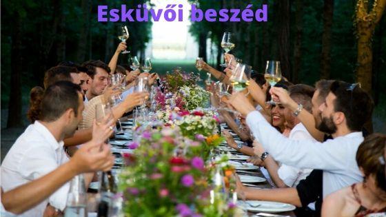 Esküvői beszéd