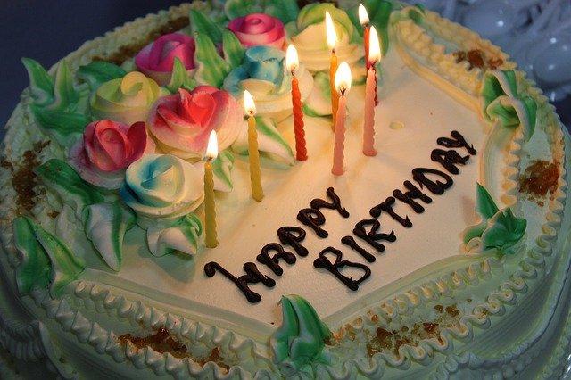 Születésnapi üdvözlő